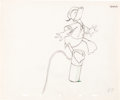 Animation Art:Production Drawing, The Riveter Group of 3 Donald Duck A...