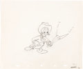 Animation Art:Production Drawing, Truant Officer Donald Group of 3 Don...