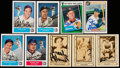 Autographs:Sports Cards, Signed Baseball Hall of Famers Collector Cards Collection (9). ...