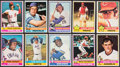 Baseball Cards:Sets, 1976 Topps Baseball Complete Set (660) With Traded Set (44). ...