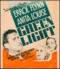 Movie Posters:Drama, Green Light (Warner Brothers, 1937). Fine. Trimmed...