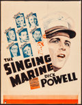 Movie Posters:Musical, The Singing Marine (Warner Brothers, 1937). Folded, Fine+....