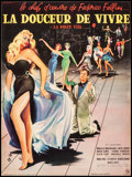 Movie Posters:Foreign, La Dolce Vita (Pathe Consortium, 1960). Very Fine+ on Line...