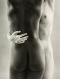 Photographs:Gelatin Silver, Ruth Bernhard (American, 1905-2006). Two Forms, 1963. Gelatin silver, printed later. 13-1/4 x 10-1/8 inches (33.7 x 25.7...