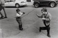 Photographs:20th Century, George Zimbel (American, b. 1929). A Group of Three Photographs of Boys with Their Guns (3 works), 1948, 1969, 1996. Gel... (Total: 3 )