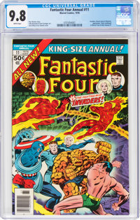 Fantastic Four Annual #11 (Marvel, 1976) CGC NM/MT 9.8 White pages