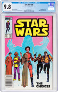 Modern Age (1980-Present):Science Fiction, Star Wars #90 Double Cover (Marvel, 1984) CGC NM/MT 9.8 Of...