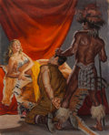 Paintings, Victor Prezio (American, 20th Century). She Wolf of Halmahera, Spur cover, September 1959. Gouache on board. 21 x 17 inc...
