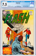 Silver Age (1956-1969):Superhero, The Flash #123 (DC, 1961) CGC VF- 7.5 Off-white to white pages....
