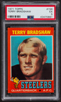 Football Cards:Singles (1970-Now), 1971 Topps Terry Bradshaw #156 PSA EX 5....