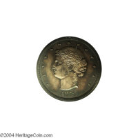 1873 T$1 Trade Dollar, Judd-1281, Pollock-1423, R.4, PR63 ANACS. The obverse, designed by J. A. Bailly, features a coile...