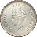 India:British India, India: British India. George VI Pair of Certified 1938-(b) Rupees MS64 NGC, ... (Total: 2 coins)