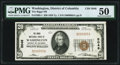 National Bank Notes:District of Columbia, Washington, DC - $20 1929 Ty. 1 The Riggs National Bank Ch. # 5046 PMG About Uncirculated 50.. ...