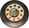 """Political:3D & Other Display (1896-present), William McKinley: """"Campaign Button"""" Walking Stick.. ..."""