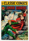 Golden Age (1938-1955):Classics Illustrated, Classic Comics #32 Lorna Doone - First Edition (Gilberton, 1946) Condition: VG/FN....