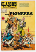 Golden Age (1938-1955):Classics Illustrated, Classics Illustrated #37 The Pioneers - First Edition (Gilberton, 1947) Condition: FN/VF....