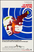 """Movie Posters:Crime, Point Blank (MGM, 1967). Very Fine on Linen. One Sheet (27"""" X 41.25""""). Crime.. ..."""