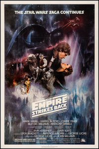 """The Empire Strikes Back (20th Century Fox, 1980). Very Fine- on Linen. One Sheet (27"""" X 41"""") NSS Style A, Roge..."""