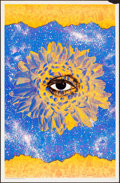 """Movie Posters:Rock and Roll, Cosmic Eye (Pandora Productions, 1968). Rolled, Very Fine-. Black Light Poster (22"""" X 34"""") David Friedman Artwork. Miscellan..."""