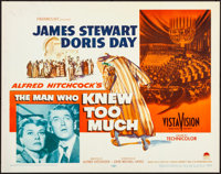 """The Man Who Knew Too Much (Paramount, 1956). Rolled, Very Fine-. Half Sheet (22"""" X 28""""). Hitchcock"""