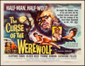 Movie Posters:Horror, The Curse of the Werewolf (Universal International, 1961)....