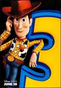 """Toy Story 3 (Walt Disney Studios, 2010). Rolled, Very Fine+. Bus Shelters (3) (47.5"""" X 68.5"""") DS Advance, 3 St..."""