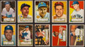 Baseball Cards:Lots, 1952 Topps Baseball Low Number Collection (215 Different). ...