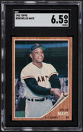 Baseball Cards:Singles (1960-1969), 1962 Topps Willie Mays #300 SGC EX/NM+ 6.5....