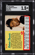 Baseball Cards:Singles (1960-1969), 1962 Post Cereal Roberto Clemente (Blue Lines) #173 SGC Fair 1.5....
