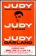 Movie Posters:Musical, Judy Garland at Carnegie Hall & Other Lot (Triton Gallery,...