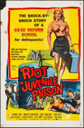 """Movie Posters:Exploitation, Riot in Juvenile Prison & Other Lot (United Artists, 1959). Folded, Overall: Fine/Very Fine. One Sheets (2) (27"""" X 41""""). Exp... (Total: 2 Items)"""