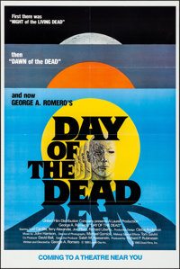 """Day of the Dead (United Film Distribution, 1985). Folded, Very Fine+. One Sheet (27"""" X 41"""") SS, Advance. Horro..."""