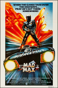 "Mad Max (American International, 1980). Folded, Very Fine. International One Sheet (27"" X 41"") John Hamagami A..."