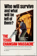 "Movie Posters:Horror, The Texas Chainsaw Massacre (Bryanston, 1974). Folded, Very Fine. One Sheet (27"" X 41""). Horror.. ..."