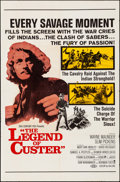 """Movie Posters:Western, The Legend of Custer & Other Lot (20th Century Fox, 1968). Folded, Overall: Very Fine-. One Sheets (3) (27"""" X 41""""). Western.... (Total: 3 Items)"""