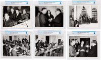 Giant Leap World Tour, 10/18-20: Large Photograph Archive of the Apollo 11 Astronauts Visiting Belgrade, Yugoslavia, Dir...