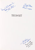 Explorers:Space Exploration, The Rocket Book Signed by Buzz Aldri...