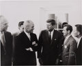 Explorers:Space Exploration, Gherman Titov Signed Photo with John F. Kennedy and John G...