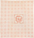 Political:3D & Other Display (pre-1896), . William Henry Harrison: Unique Large Quilt with Equestrian Bandana.. ...