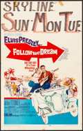 Movie Posters:Elvis Presley, Follow That Dream (United Artists, 1962). Folded, Fine/Ver...