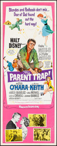 Movie Posters:Comedy, The Parent Trap (Buena Vista, 1961). Rolled, Fine/Very Fin...