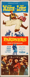 Movie Posters:Comedy, Pardners (Paramount, 1956). Rolled, Very Fine-. In...