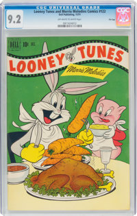 Looney Tunes and Merrie Melodies Comics #122 File Copy (Dell, 1951) CGC NM- 9.2 Off-white to white pages