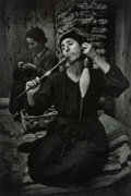Photographs:Photogravure, W. Eugene Smith (American, 1918-1978). The Spinner, 1951. Photogravure, 1985. 12-1/2 x 8-1/2 inches (31.8 x 21.6 cm). Si...