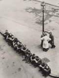 Photographs:Gelatin Silver, Victor Guidalevitch (Belgian, 1892-1962). Workers, 1930s. Gelatin silver. 9 x 6-3/4 inches (22.9 x 17.1 cm). Photographe...