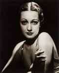 Photographs:Gelatin Silver, George Hurrell (American, 1904-1992). Dorothy Lamour, 1930s. Gelatin silver, printed later. 19 x 15-5/8 inches (48.3 x 3...