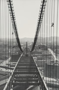 Photographs:Gelatin Silver, Peter Stackpole (American, 1913-1997). Three Images of the Bay Bridge Construction, San Francisco (3 works), 1935-1936. ... (Total: 3 )