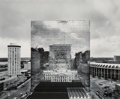 Photographs:Gelatin Silver, William Clift (American, b. 1944). Reflection, Old St. Louis County Court House, Missouri, 1976. Gelatin silver, printed...