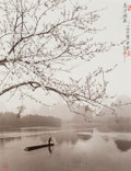 Photographs:Gelatin Silver, Don Hong-Oai (Chinese, 1929-2004). Spring on the River Li, Guilin, China, 1984. Toned gelatin silver. 14 x 11 inches (35...