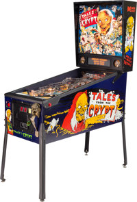 Tales From the Crypt Pinball Machine (Data East, 1993)